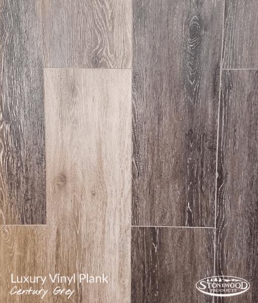 Century Grey Plank Luxury Vinyl Flooring