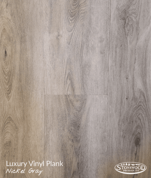 Luxury Vinyl Plank Flooring | Nickel Gray