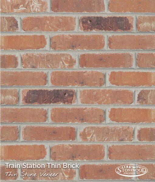 Thin Brick Wall Veneer - Trainstation