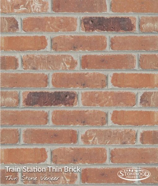 Thin Brick Wall Veneer - Trainstation