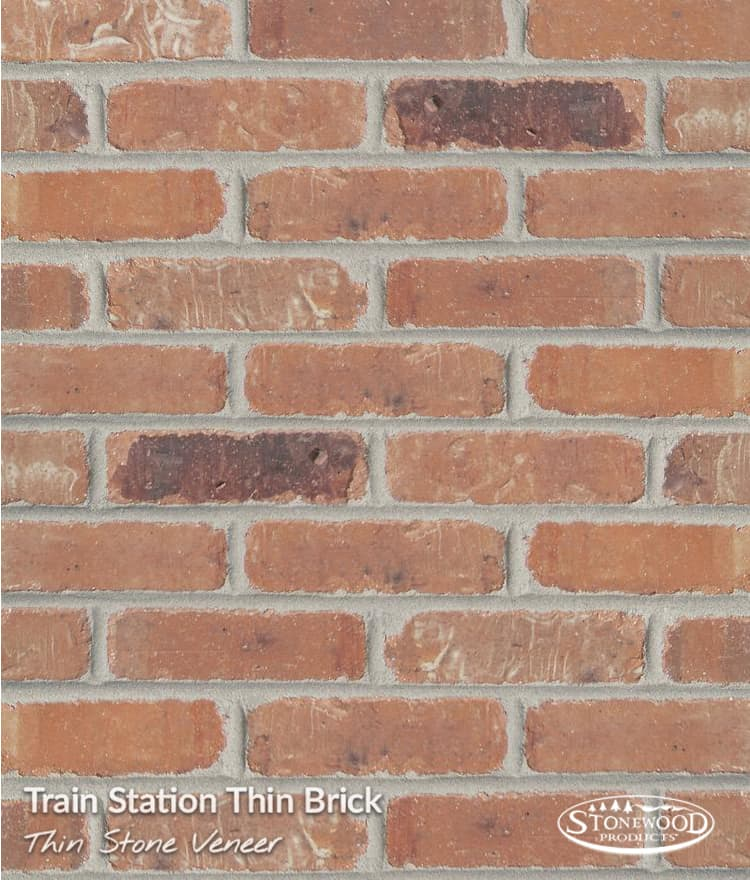 Thin Brick Wall Veneer   Trainstation