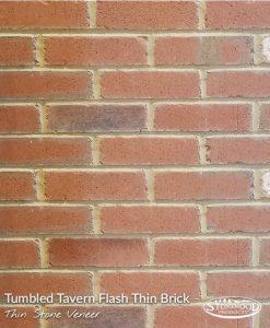Tavern Flash Tumbled Brick Thin Stone Veneer