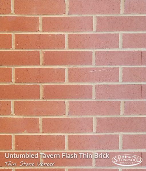 Untumbled Tavern Flash Thin Brick Veneer