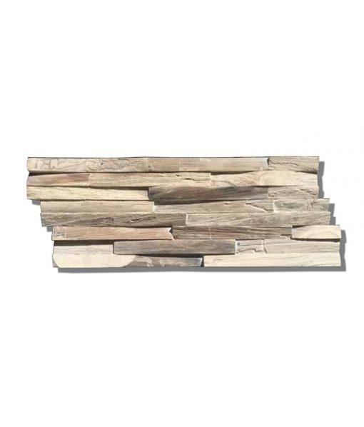 Teak Gun Smoked Wood Wall Planks
