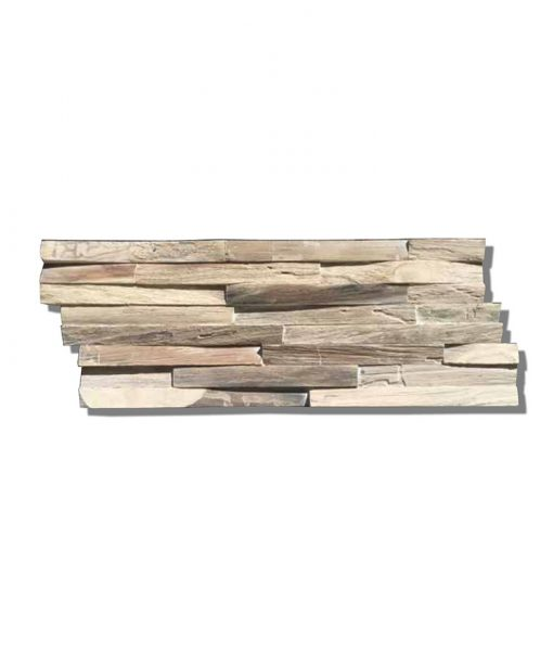 Teak Gun Smoked Wood Wall Planks