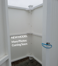PVC Outdoor Shower Enclosure - New Model, Photos coming soon