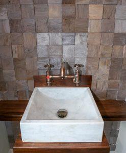 wall wood bathroom backsplash