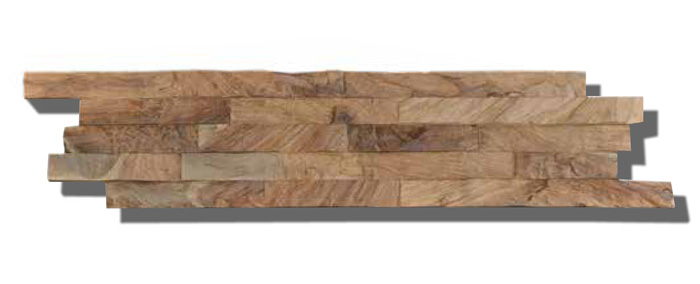 Reclaimed Teak Wood Wall Planks Diamondwood Natural Slim