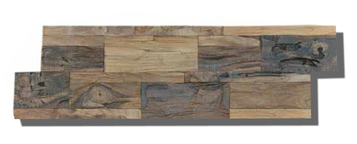Teak Wood Wall Panels Diamondwood Natural Wide