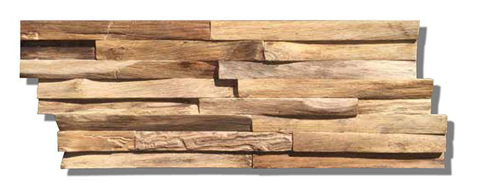 Teak Wood Wall Planks Nature Elegance