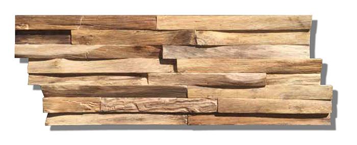 Teak Wood Wall Planks Nature Elegance