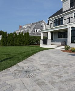 Installed Bluestone Compass