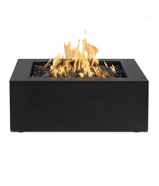 Byron Square Steel Fire Pit