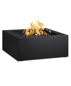 Byron Square Steel Gas Fire Pit