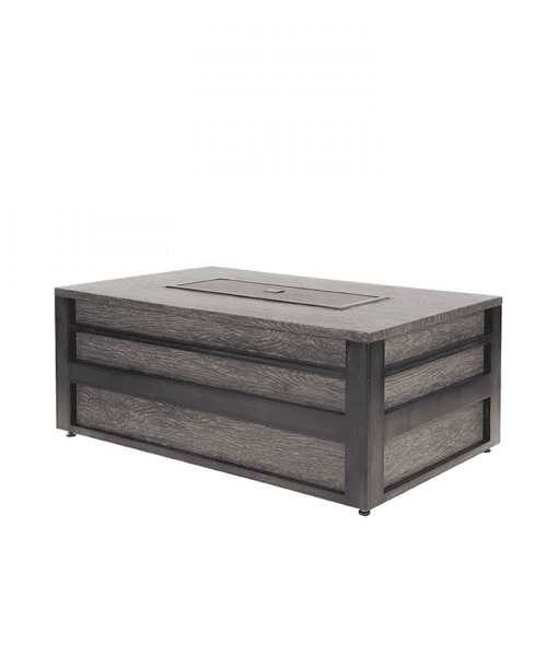 Lucca Rectangular Fire Pit (Closed)
