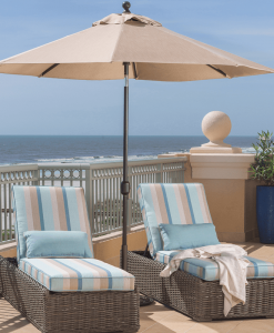Laurent Outdoor Chaise Lounge