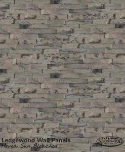 Hevea Sun Bleached 3D Wall Panels
