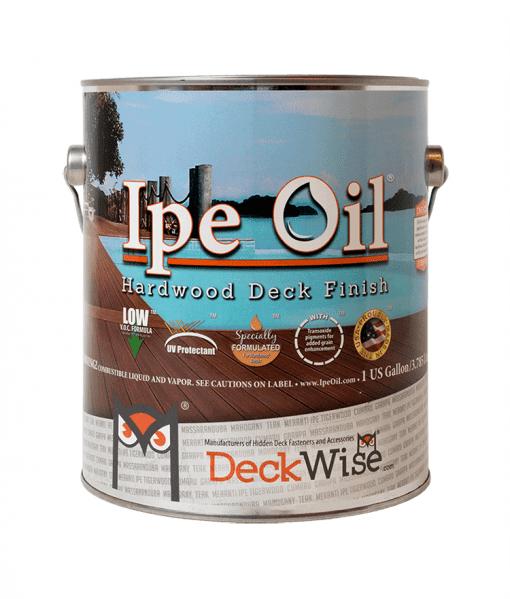 Ipe Oil Hardwood Deck Finish