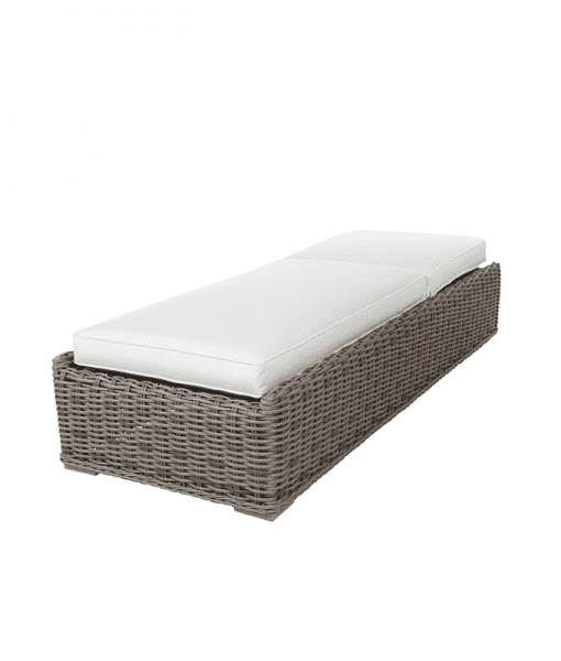 Laurent Outdoor Chaise Lounge - Down Position