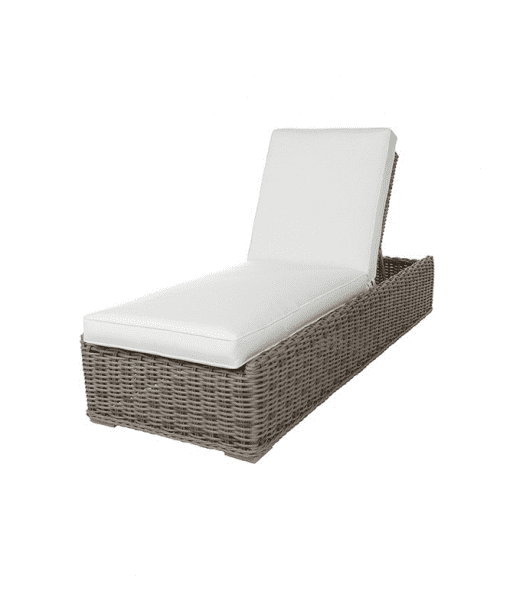 Laurent Outdoor Chaise Lounge - Up Position