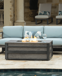 Lucca Rectangular Fire Pit