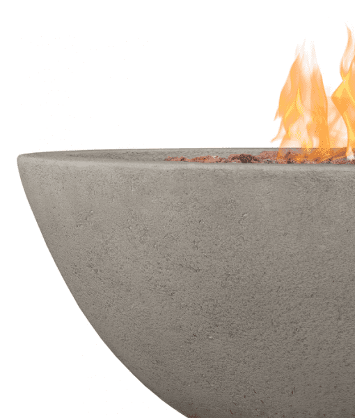 Closeup of Riverside Gas Fire Bowl
