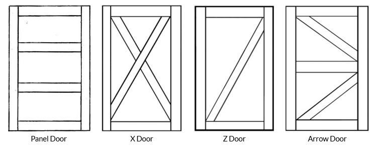 Barn Door Frame Options