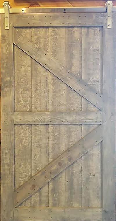 Barnwood Barn Door