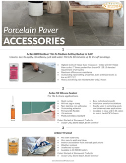Porcelain Paver Accessories