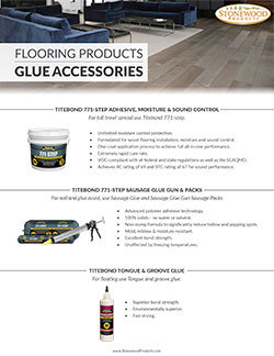 Flooring - Glue Accessories