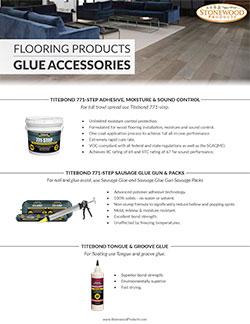 Flooring - Glue Accessories