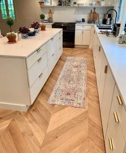 Sawyer Mason Sconset Chevron Floor Pattern