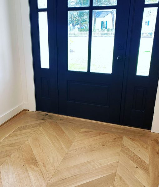 Sconset Chevron Floor Pattern by Sawyer Mason Wide Plank