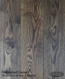 Prefinished Red Oak Mountain Grade Canaan