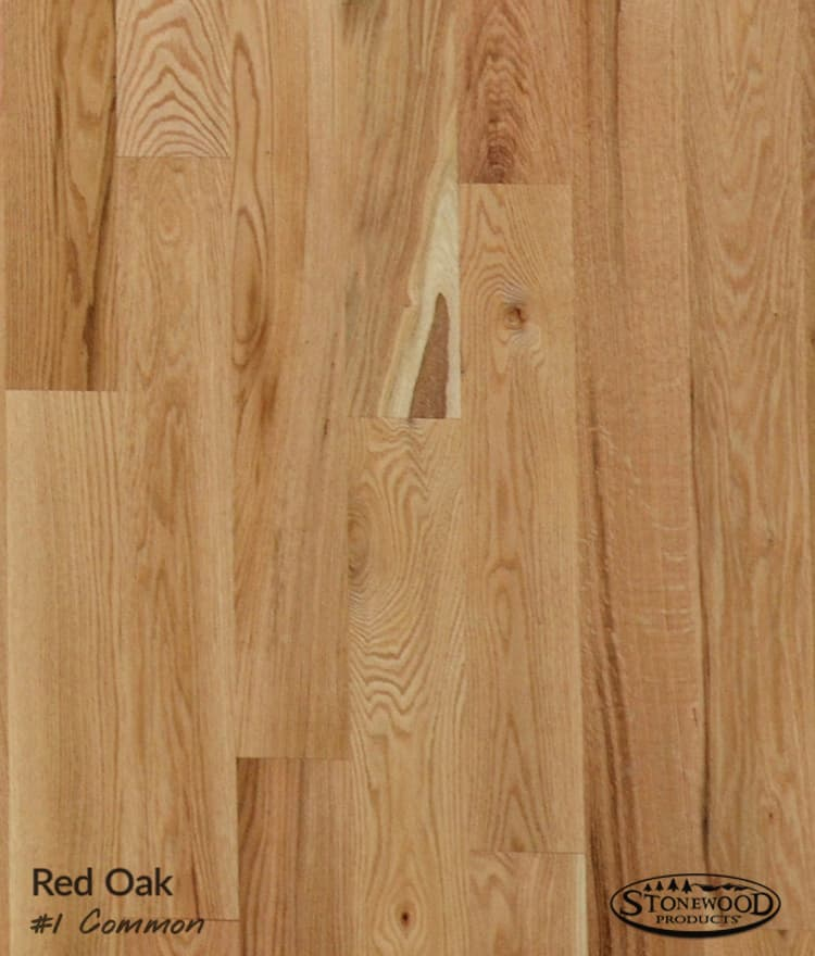 Unfinished Red Oak Flooring 1 Common