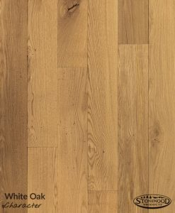 Unfinished White Oak Flooring - Character Grade
