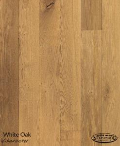 Unfinished White Oak Flooring - Character Grade