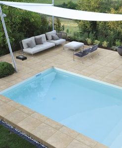 Everblue™ Sand Stone Pavers Pool Deck