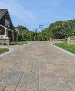 Sandalwood Techo Bloc Blu 80mm Pavers with Cobblestone
