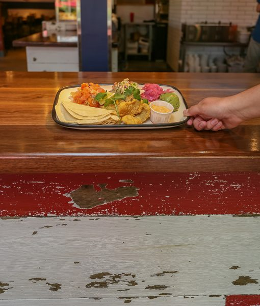 Fish Tacos from Mac's Chatham Fish & Lobster