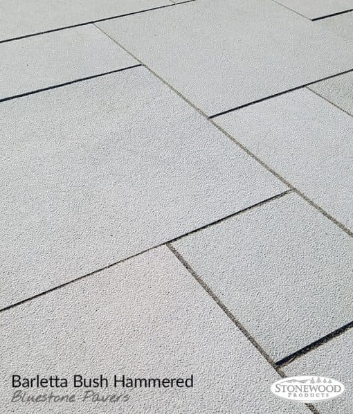 Barletta Bush Hammered Bluestone Pavers