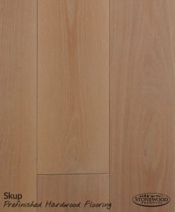Prefinished White Oak Engineered Skup