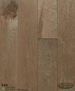 Lex Birdseye Maple Prefinished Hardwood Flooring