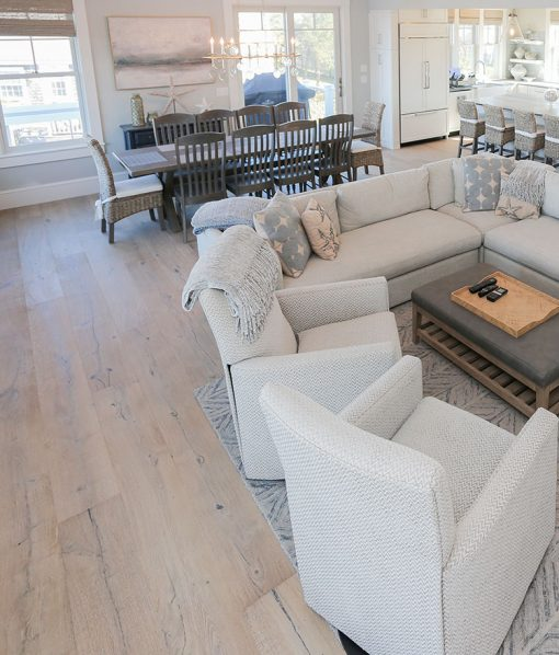 Coastal Design with Sawyer Mason Sausalito in Living Room