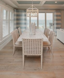 Ocean Getaway with Sawyer Mason Sonoma installed in open concept living space