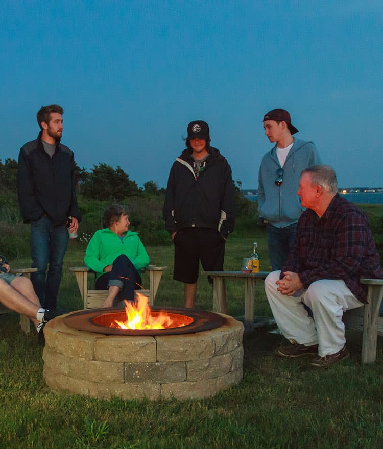 Smokeless Fire Pit Ring from Cape Cod Fire PIts