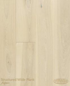 White Wood Floors Sawyer Mason Aspen