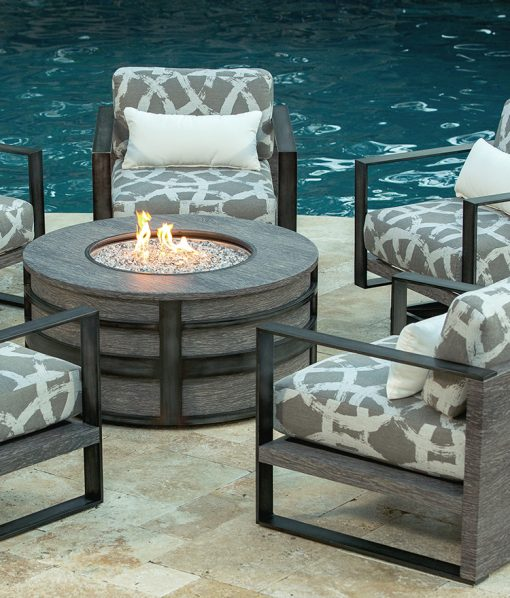 outdoor propane fire pit