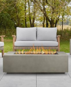 rectangle propane fire pit