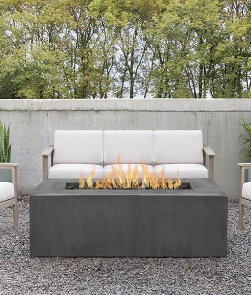 rectangle patio fire pit
